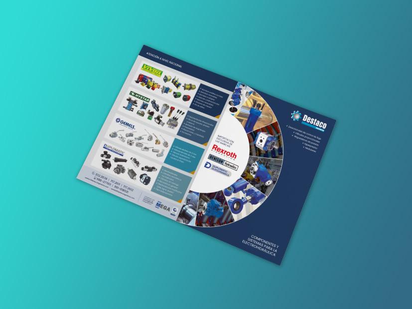 diseño de brochure corporativo